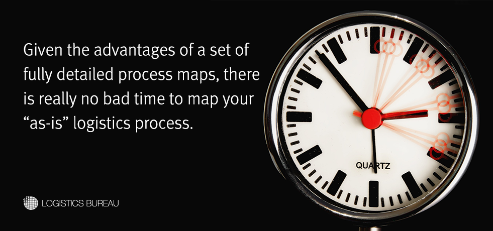 When to Create a Logistics Process Map